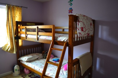 This was originally the daughter's bedroom where her bunk bed was